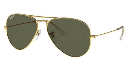 RB3025 001-58 AVIATOR LARGE METAL