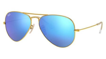 RB3025 112-17 AVIATOR LARGE METAL