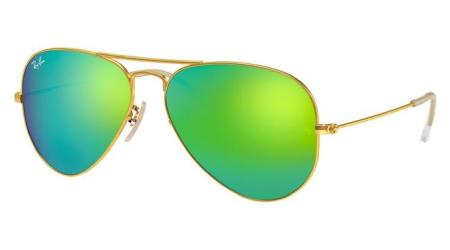 RB3025 112-19 AVIATOR LARGE METAL