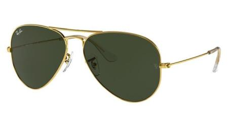 RB3025 W3234 AVIATOR LARGE METAL