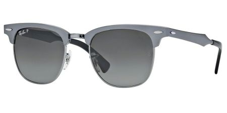 Ray-Ban RB3507 138/M8 CLUBMASTER ALUMINUM