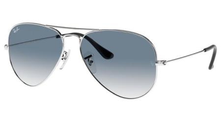 RB3025 003-3F AVIATOR LARGE METAL