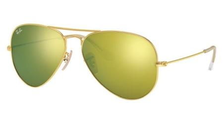 RB3025 112-93 AVIATOR LARGE METAL
