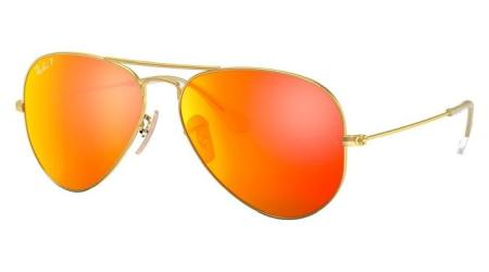 Ray-Ban RB3025 112/4D AVIATOR LARGE METAL