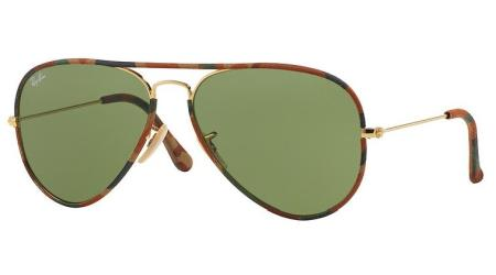 Ray-Ban RB3025JM 168/4E AVIATOR FULL COLOR