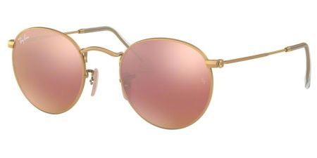 Ray-Ban RB3447 112/Z2 ROUND METAL