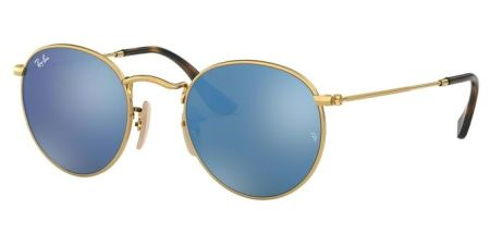 Ray-Ban RB3447N 001/9O ROUND METAL