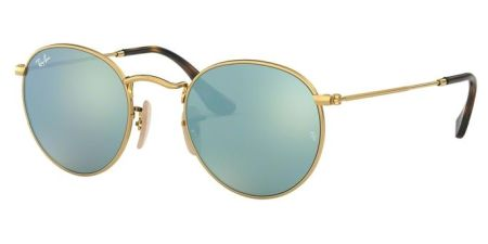 Ray-Ban RB3447N 001/30 ROUND METAL