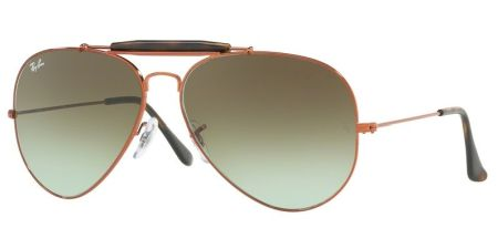 Ray-Ban RB3029 9002A6 OUTDOORSMAN II
