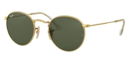 Ray-Ban RB3447N 001 ROUND METAL