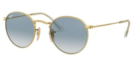 Ray-Ban RB3447N 001/3F ROUND METAL