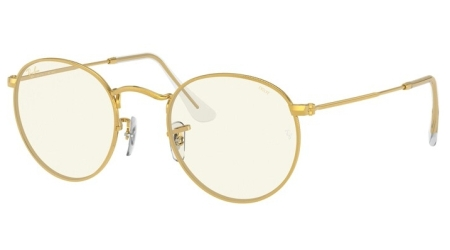 Ray-Ban RB3447 9196BL ROUND METAL